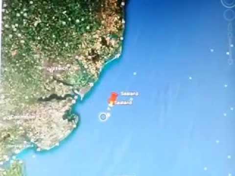 Finding Sealand On Google Earth Youtube