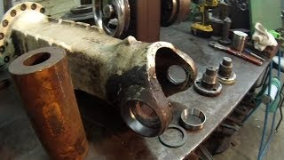 Forklift Axle Housing Repair