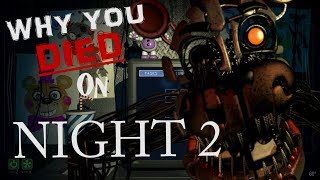 Why YOU, Matpat, and Markiplier all died day 2! FNAF 6 | Review of Design