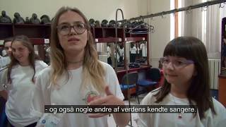 Kids from Kosovo play concert to promote peace