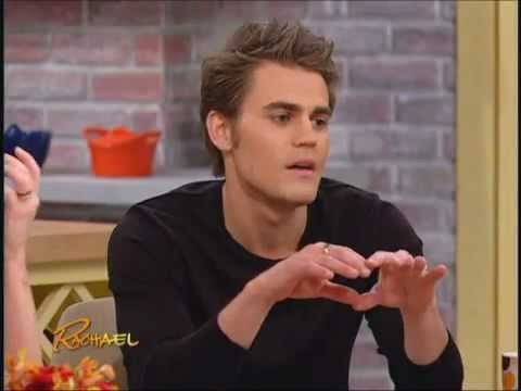 Paul Wesley on Rachael Ray
