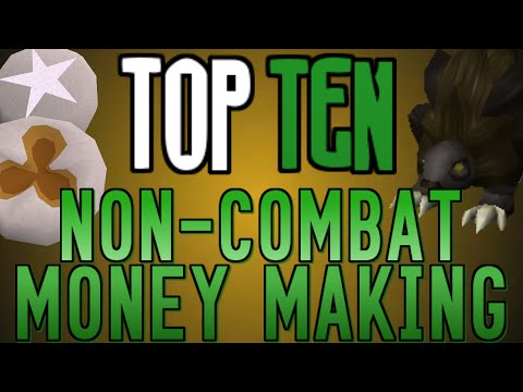 Top 10: Non-Combat Money Making Methods! [Runescape 2014]