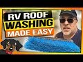 How to Clean your RV Roof the Simple and easy way - RV Living