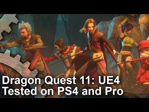 [4K] Dragon Quest 11 PS4/ PS4 Pro: JPRG Meets Unreal Engine 4