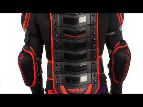 2014 FLY Barricade Body Armor - Long Sleeve Motocross ATV Dirt Bike Chest Protector