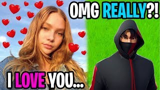 My Crush Told Me She Loves Me...(Fortnite)