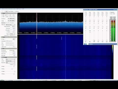 SDRSharp Rev 329 + EzTV666 RTL2832U, Air Traffic