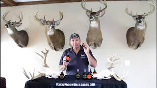 Black Widow Deer Lures Hot-N-Ready vs XXX? Which one do you use?