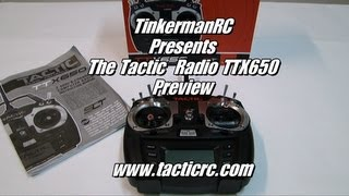 The Tactic Radio TTX650 Preview Video