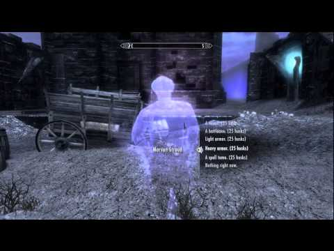 Skryim Dawnguard: 25 Soul Husks for Morven Stroud in the Soul Cairn