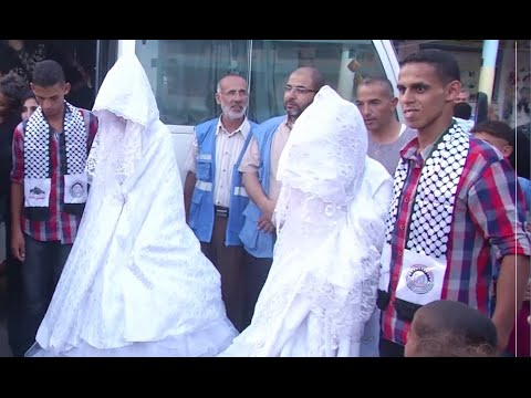 War Weddings: UN helps three Gaza brides marry