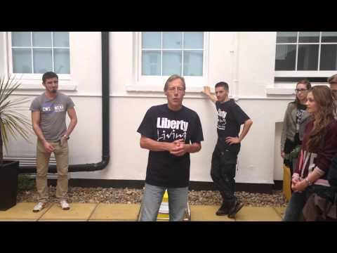 Liberty Living's CEO, Charles Marshall takes on the Ice Bucket Challenge