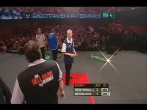 Pro Celebrity Darts 2008 Taylor/Ruddock vs. Dobromyslova/Davis 3 Video