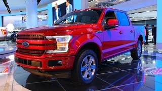 2018 ford f 150 first look   2017 detroit auto show