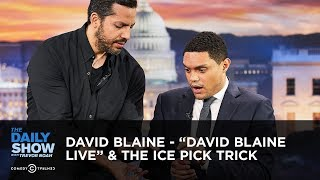 "David Blaine - ""David Blaine Live"" & the Ice Pick Trick 