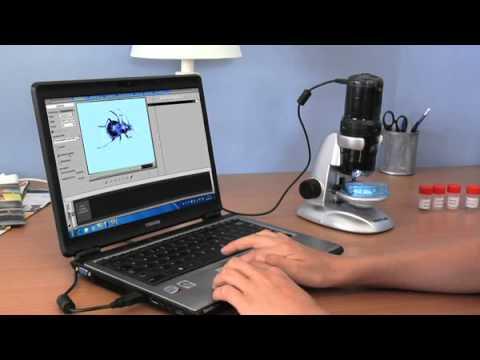 Traveler USB Mikroskop - deutsch