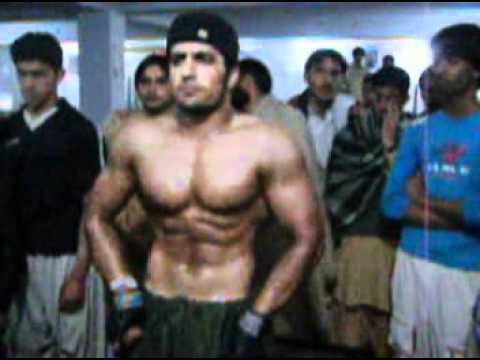 pishin video habib ullah 2009 body building video