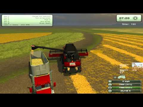 Let's Play - Farming Simulator 2013 EP3 PT 2 - Harvesting Started.