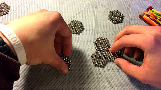 Tutorial cool magnetic pillow (Buckyballs)