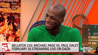 Bellator's Michael Page on Paul Daley We Won't Be Shaking Hands After Fight Sports Illustrated