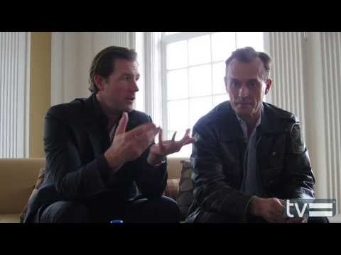 Mob City (TNT): Ed Burns & Robert Knepper Interview
