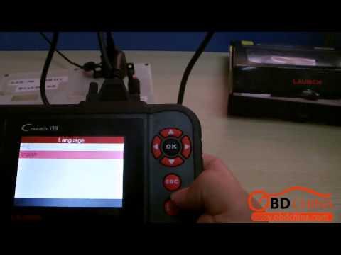 Auto Diagnostic Tool Obd2 Code Scanner Original Launch X431 CRP129 Creader VIII