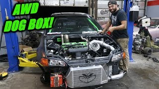 The Grinch Gets a DOG BOX! (1000Hp AWD Civic)