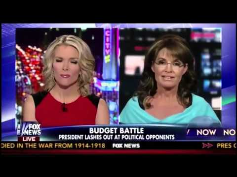 Megyn Kelly Desperate to Control Sarah Palin on Fox News
