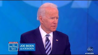 Joe Biden reacts to resurfaced audio of Bloomberg | The View