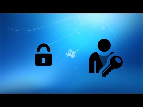 Windows 7/8/10 Reset Password (Ease of Access Center Method)