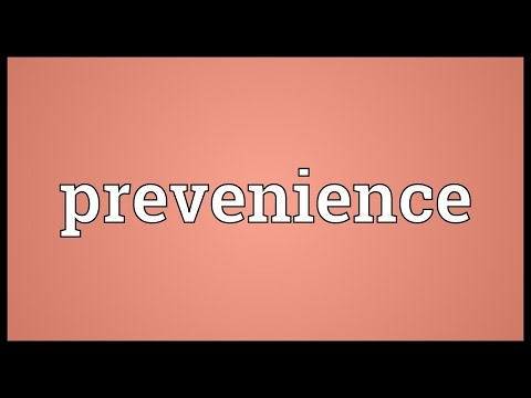 Header of prevenience