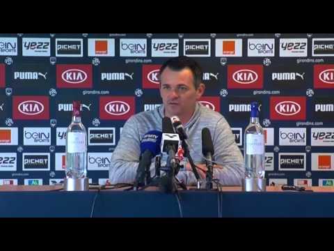 Point Presse - Willy Sagnol - Lyon vs Bordeaux