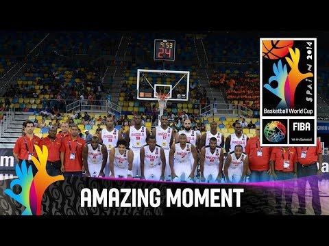 Angola V Korea - Amazing Moment - 2014 Fiba Basketball World Cup video