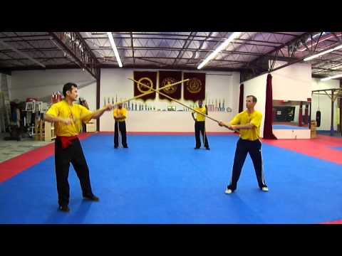 NC Kungfu Center Video Staff Sparring-1 Image 1