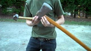 Restoring a Full Size Axe | Woodsman Tools Part 2