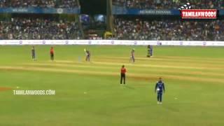 Dhoni mass entry in mumbai wankhede stadium 2017 Ipl