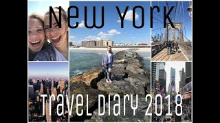 New York travel diary 2018