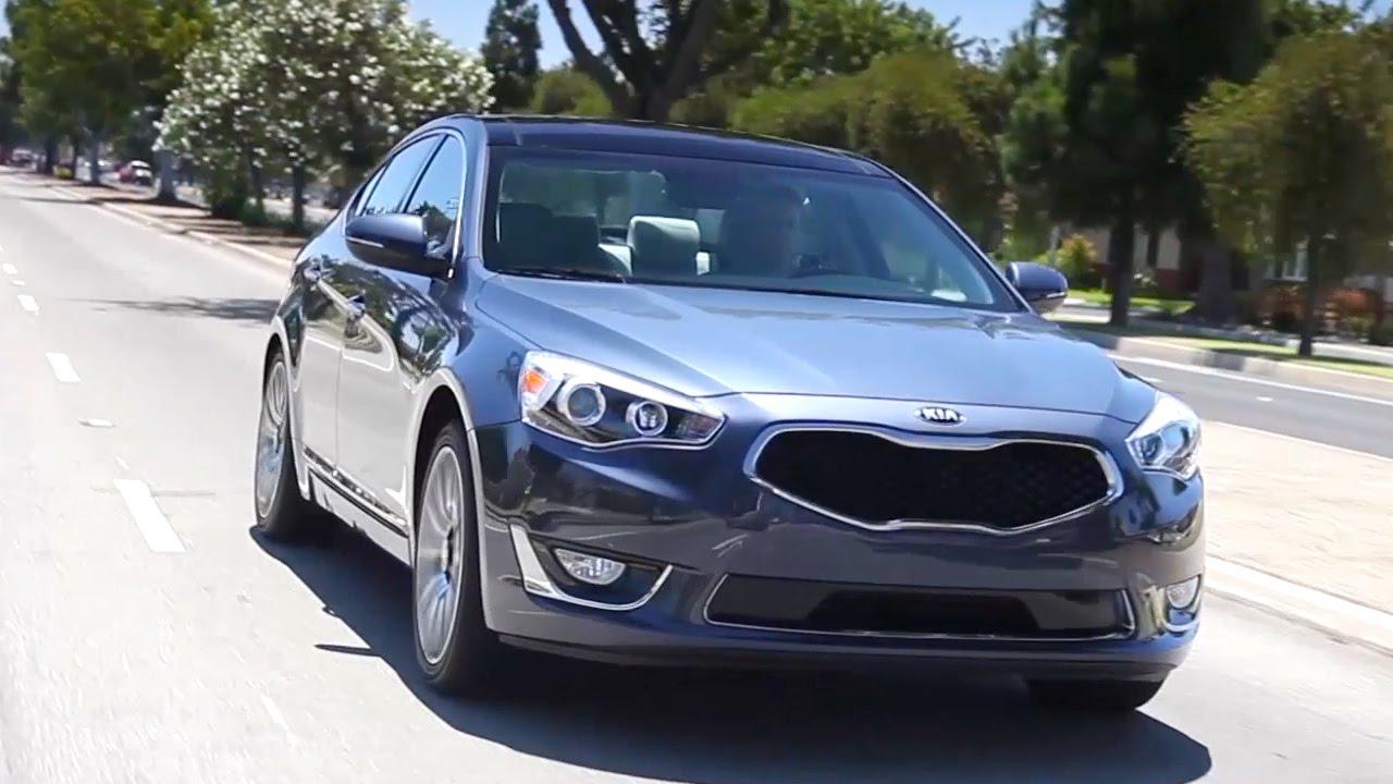 2015 kia cadenza review road test youtube
