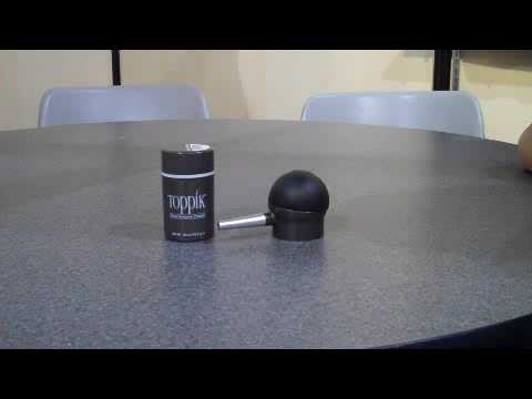 Toppik Spray Applicator How-To
