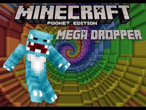 Minecraft PE (Mega Dropper Part.1)