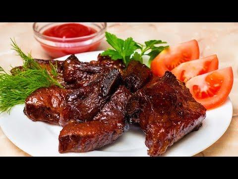 Самые вкусные свиные ребрышки, запеченные в духовке. Лучший рецепт