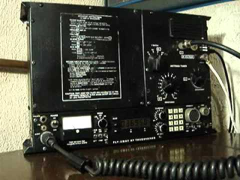 XE1XNP 80 Meter QSO Datron/Transworld TW100F Flyaway  suitcase HF radio and Isotron Antenna
