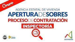 INSPECTORIA PARA EL PROYECTO DE VIVIENDA NUEVA AUTO CONSTRUCCION EN EL MUNICIPIO DE ORURO-FASE(XLIX)