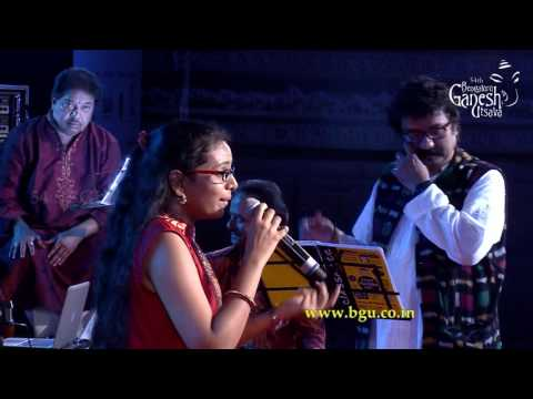 'Needu Shiva' by Supriya Joshi @ 54th Bengaluru Ganesh Utsava, a Tribute to Hamsalekha Concert