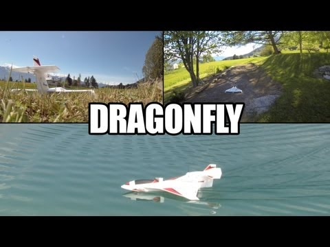 MHF/RC REVIEW/ Dragonfly : the offroad plane ! / Joysway seaplane