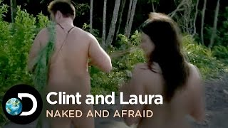 Naked and Afraid - Clint and Laura