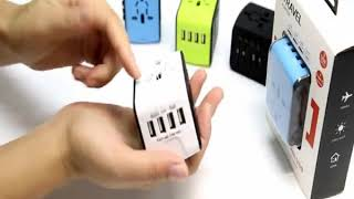 Review Universal Travel Adapter- All in One International