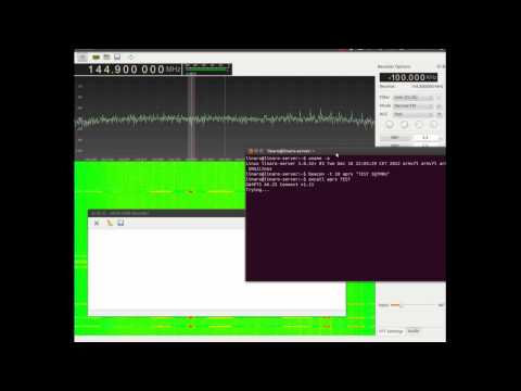 rtlsdr and gqrx decoding ax.25 packets
