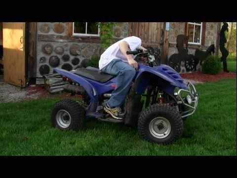 Baja 90 ATV Cold Start (1080P HD)