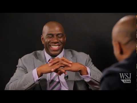 Magic Johnson Discusses His New TV Network & Other Ventures; Reflects On His Career